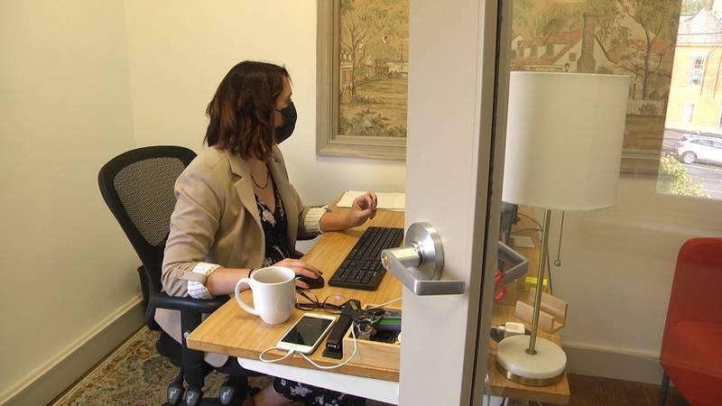 Shenandoah Community Captial Fund (SCCF) Executive Director Debbie Irwin.