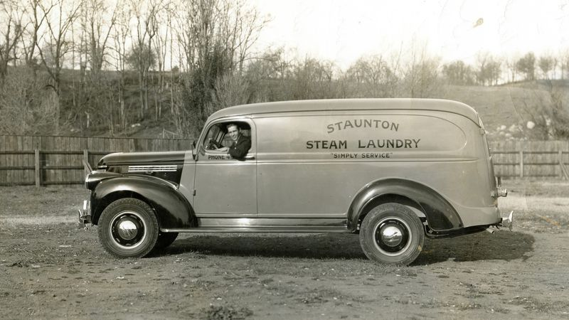 Staunton Steam Laundry was opened back in 1912.