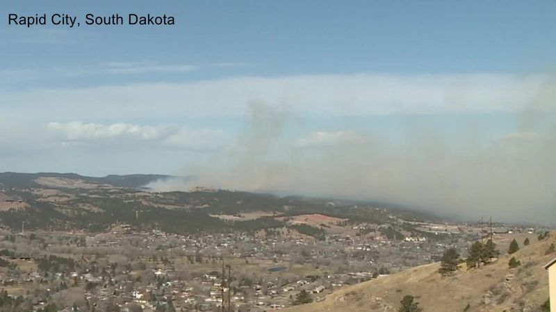 High winds fuel wildfires
