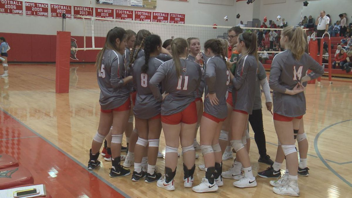 The Riverheads High School volleyball team will play for the VHSL Class 1 state title Saturday.