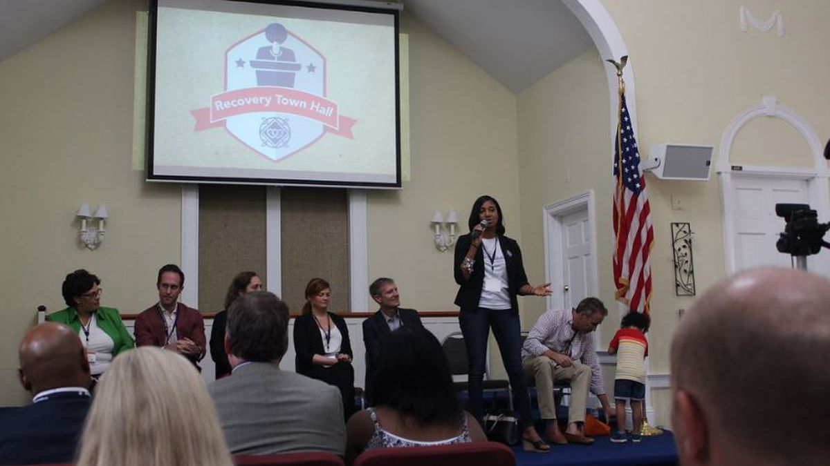 Photos from the the McShin Foundation's Virginia Town Hall Forum on Sept. 27. A record breaking 20 candidates showed up to the event to hear the issues behind substance use disorder and recovery solutions.
