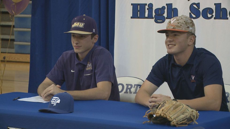 The Fort Defiance High School baseball duo of Ryan Cook and Tristan Shoemaker signed to play at...