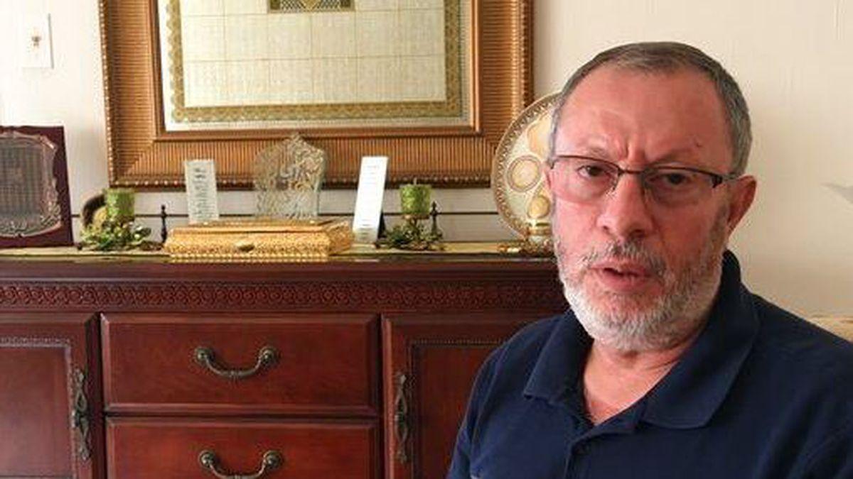 Abdelhaleem Ashqar sits in his Springfield, Va., home, Thursday, Sept. 12, 2019, discussing his...