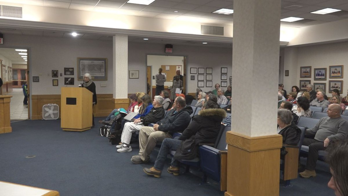 Residents spoke both in favor of and against becoming a second amendment sanctuary on Thursday....