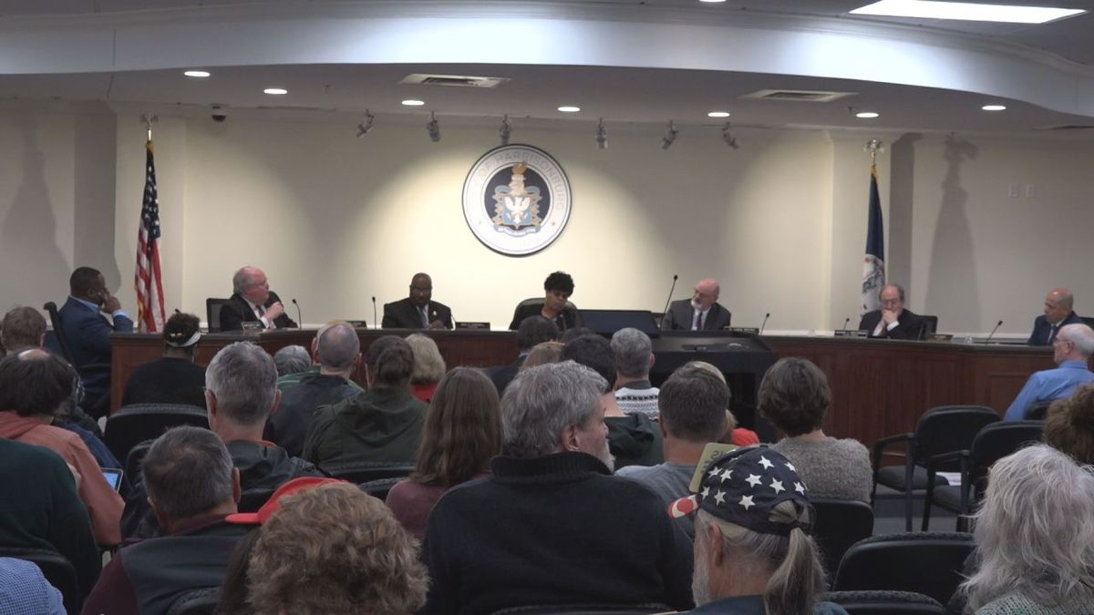 City council did not take any action on a second amendment resolution during the meeting. | Credit: WHSV