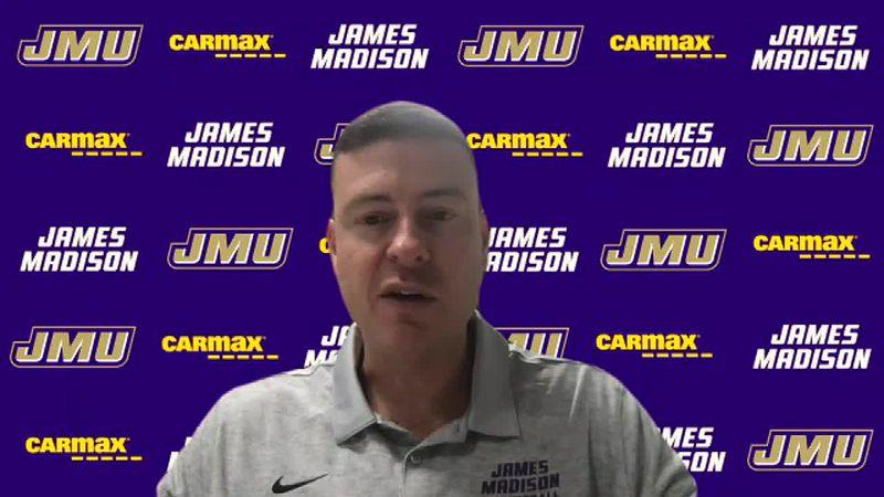 DIGITAL EXTRA: JMU men's basketball Mark Byington postgame presser - Norfolk State (11/27/20)