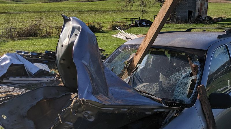 This is why a vehicle is not safe during a tornado