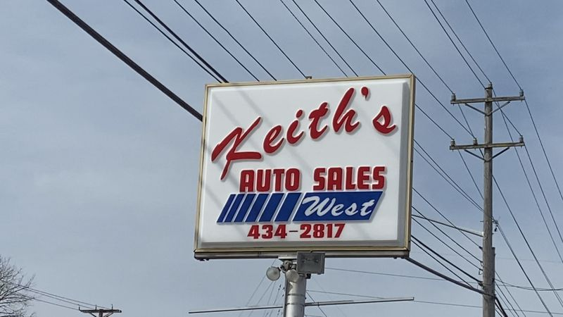 Keith's Auto Sales West in Harrisonburg saw a spike in sales just after the pandemic started.