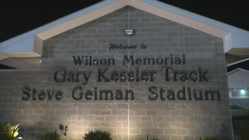 Longtime teacher and coach honored at Wilson Memorial High School