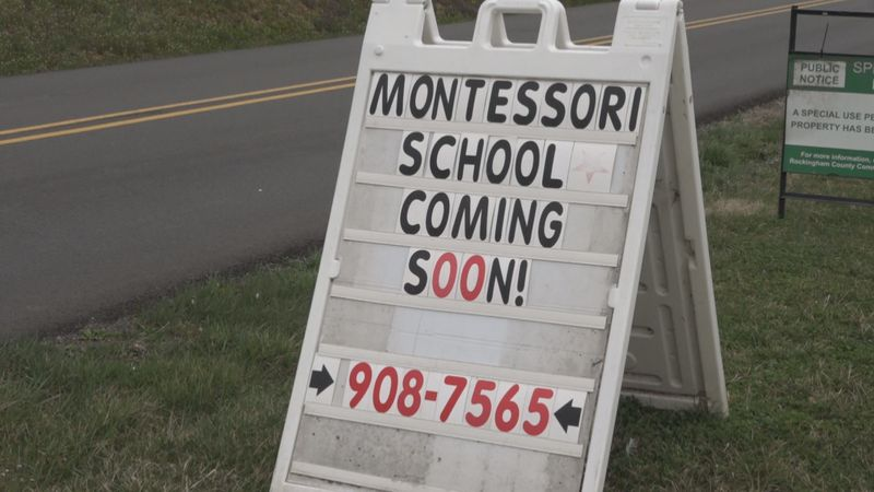 Teacher presents plan for new Montessori school