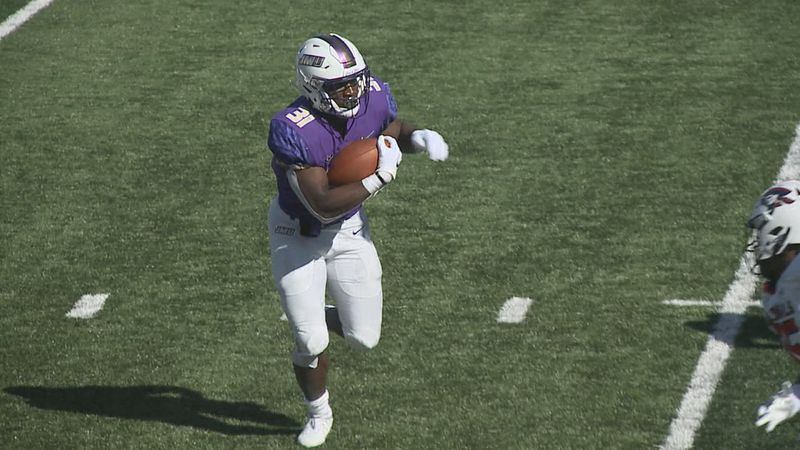 Percy Agyei-Obese is the leader of a deep running back group for James Madison.
