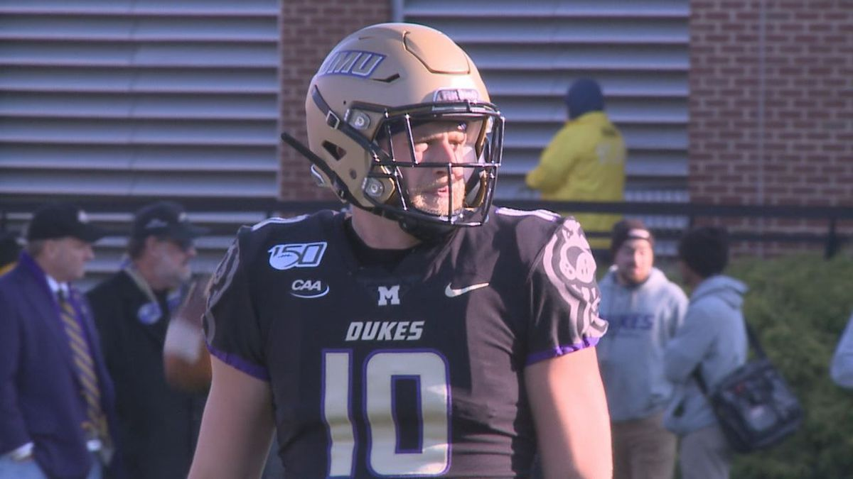 James Madison redshirt senior wide receiver Riley Stapleton is making an impact on the field for the James Madison football team after missing the first part of the 2019 season due to suspension.