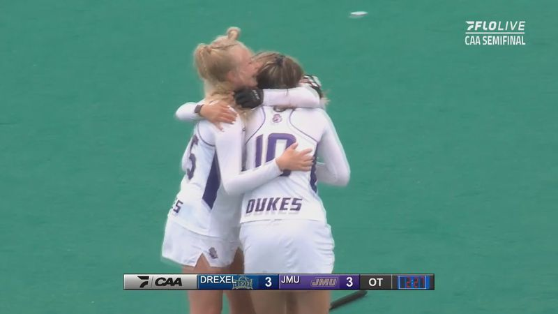 JMU field hockey advances to CAA title game (FloSports)