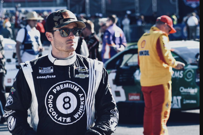 Quin Houff shared a glimpse into his life off the NASCAR track.