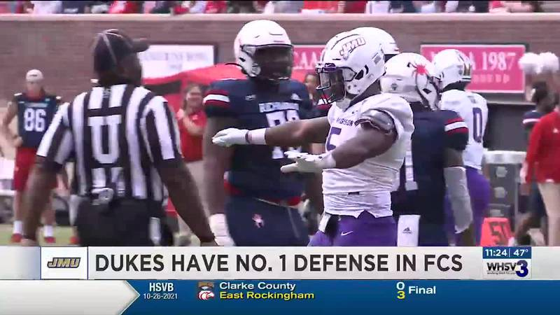 Dukes feature No. 1 defense in FCS