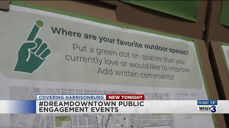#DreamDowntown pop-up events want to hear from the Harrisonburg community this weekend