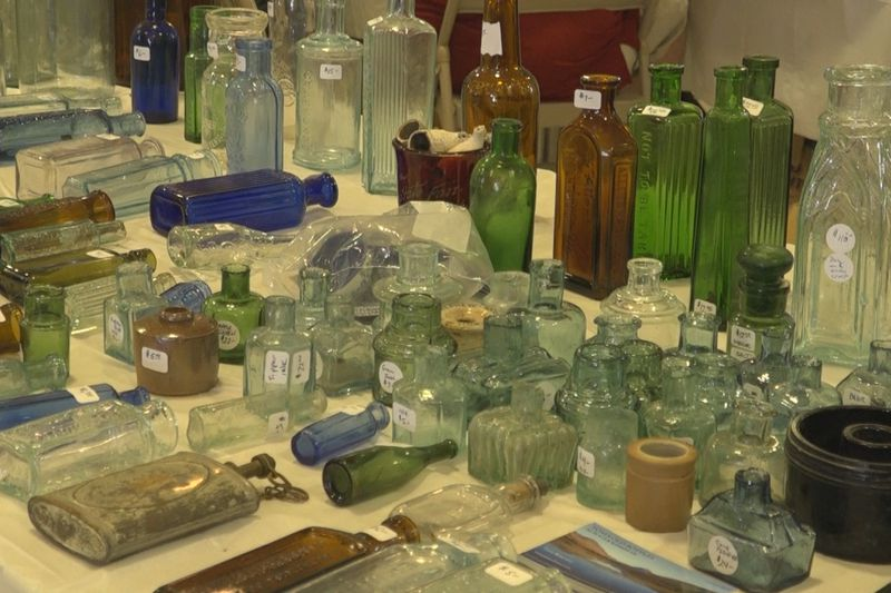 The Historical Bottle Diggers of Virginia hosted the event.