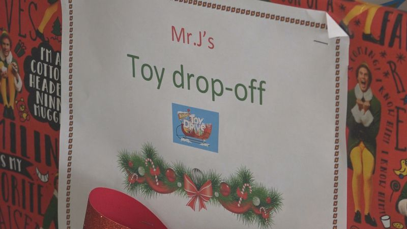 Toys should be new and unwrapped, and can be dropped off and any of the three locations until...