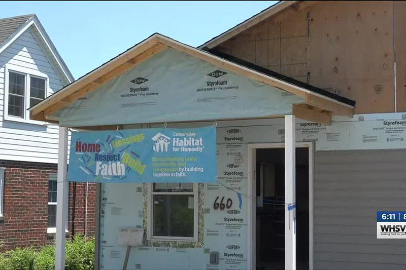 Solar panels installed on Harrisonburg Habitat for Humanity home