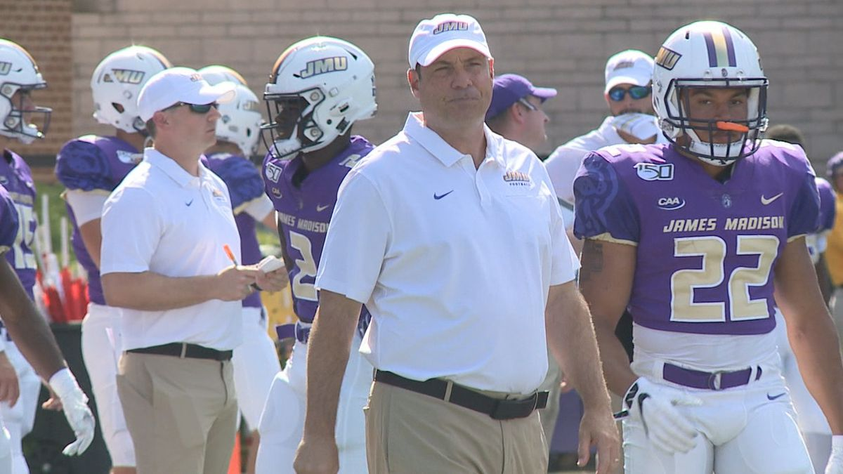 The James Madison football team is searching for a new offensive coordinator.