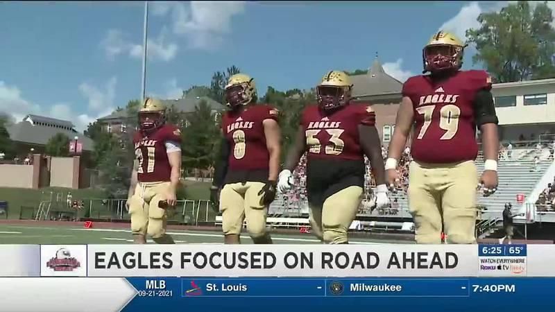 Eagles focused on road ahead