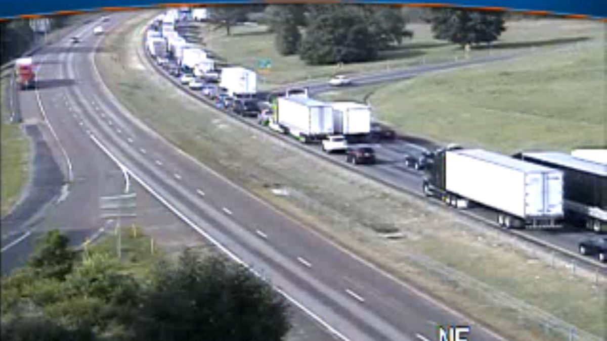 A tractor trailer crash at mile marker 253 in Rockingham County is leading to delays for...