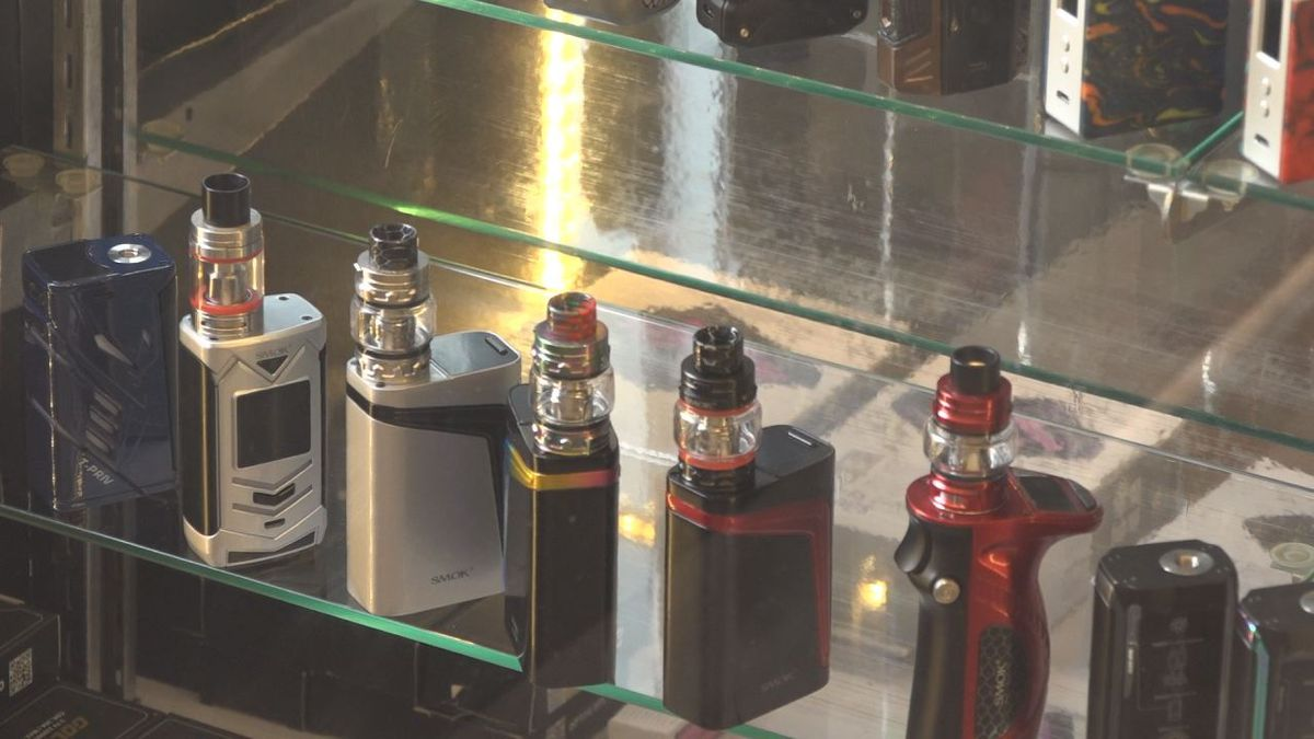 Dupree said the products he sells are very different from the illegal THC cartridges seized recently. | Credit: WHSV