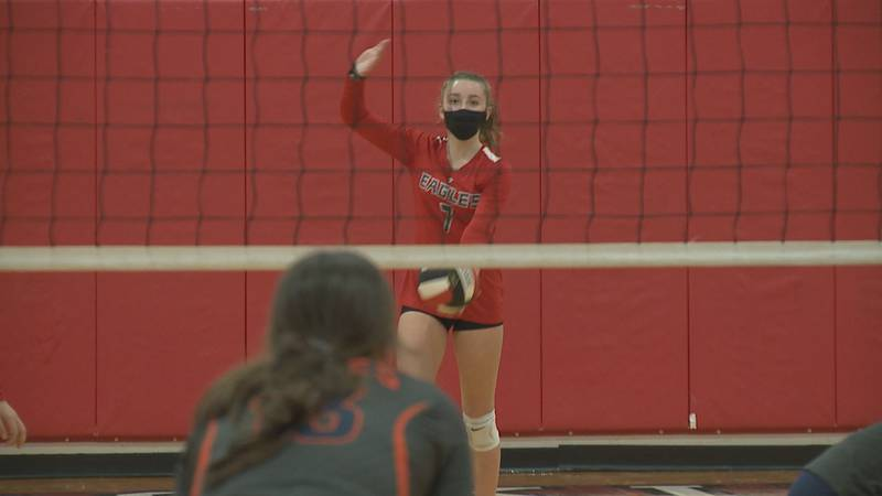 High school volleyball scores from Tuesday, October 26.