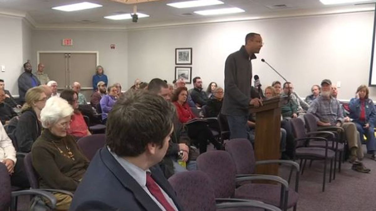 Waynesboro community speaks about Second Amendment concerns during council meeting on Dec. 9,...