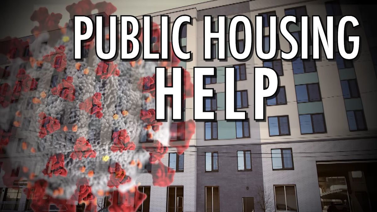 Coronavirus is sweeping through public housing.  But residents aren't just getting...