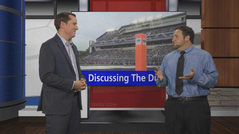 WHSV Sports Director TJ Eck is joined by Greg Madia (Daily News-Record) for week one of...