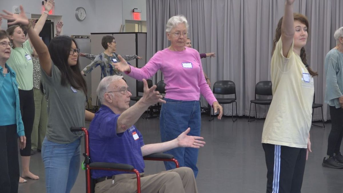 The Dance for Parkinson's class is open for all community members.