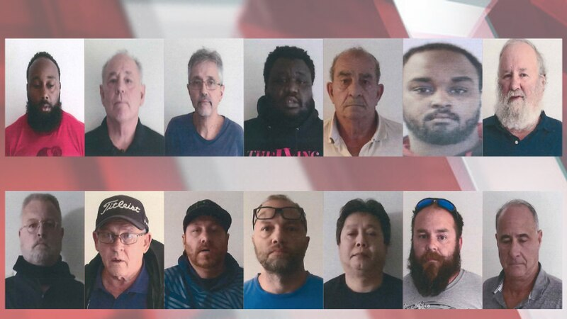 Police Elyria, Ohio released photos of several of the suspects arrested in what's considered...