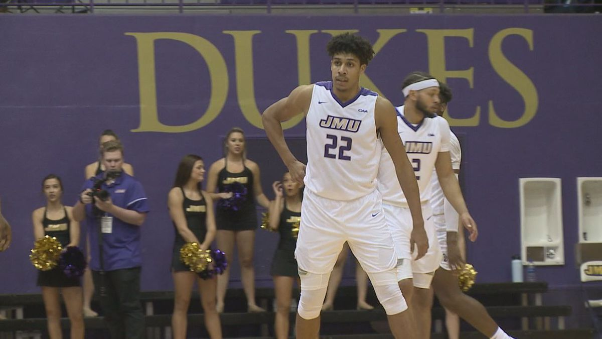 James Madison freshman forward Julien Wooden has been named the CAA Rookie of the Week.