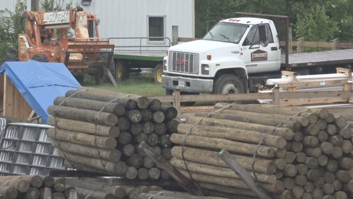 The Stoneburner Lumberyard.