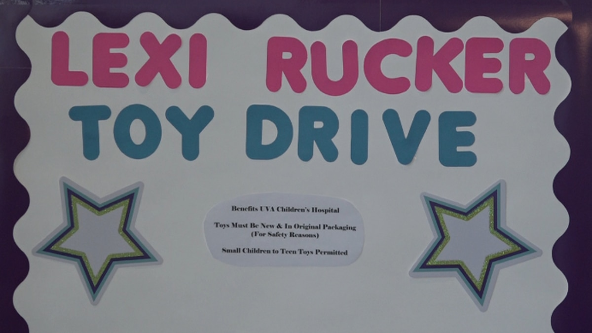 Lexi had toy drop off locations throughout the valley including in Harrisonburg, Rockingham, and Page County