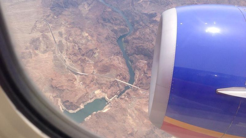 View from plane.