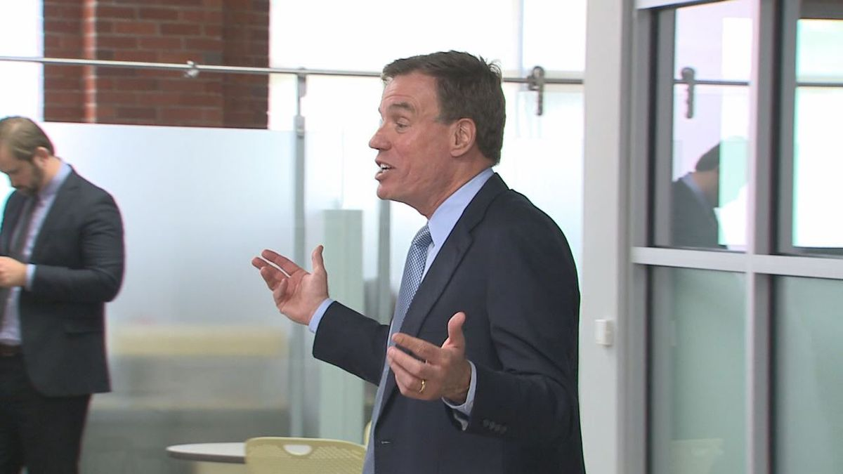 Sen. Warner said economies in Europe have been doing better because of plans like the Paycheck Security Act.