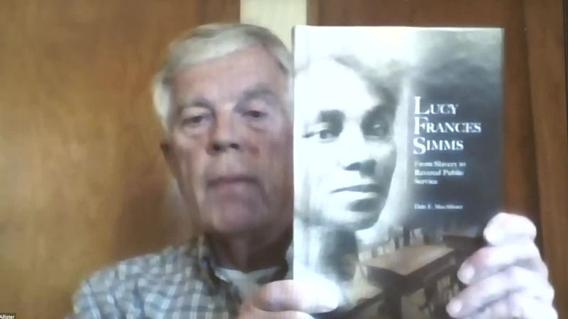 """We talk with Dale MacAllister, author of """"Lucy Frances Simms: From Slavery to Revered Public..."""