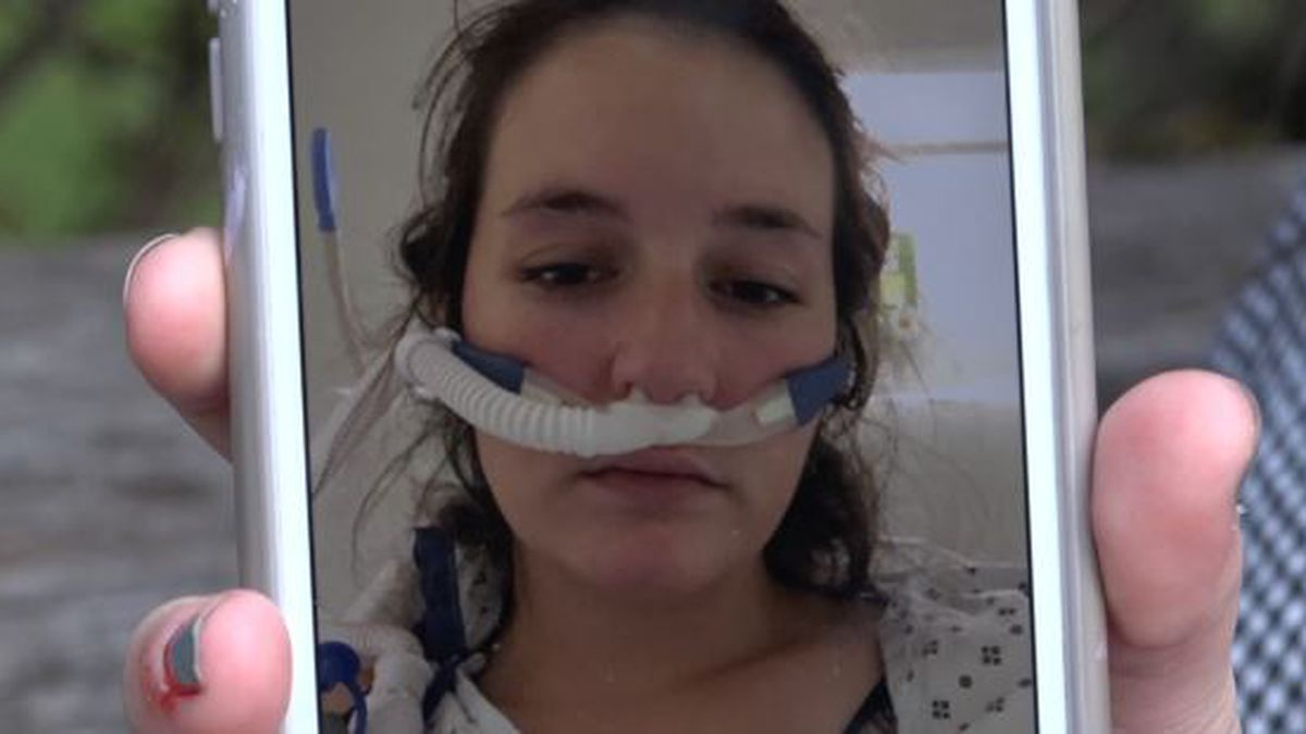 Zimmerly said before she went home from the hospital she asked her family to remove all the vaping products from her home.
