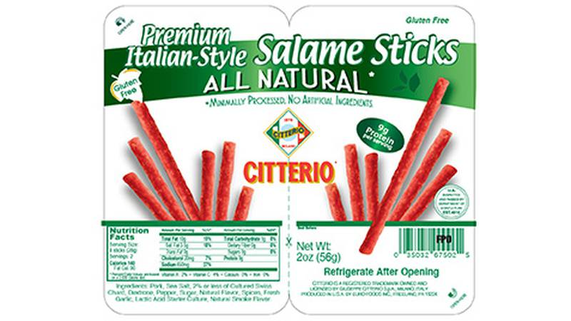 The Citterio Salame Sticks are primarily sold at Trader Joe's stores.