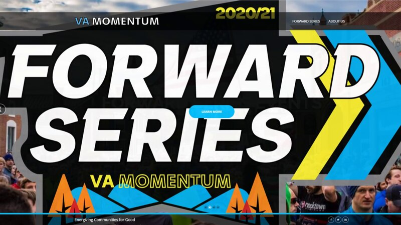 "VA Momentum created the new program ""Forward Series"" to help engage the community during the..."