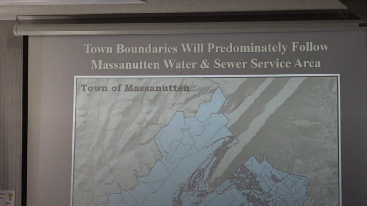 Gene Hauze said the town boundaries would follow the sewer service plan. | Credit: WHSV