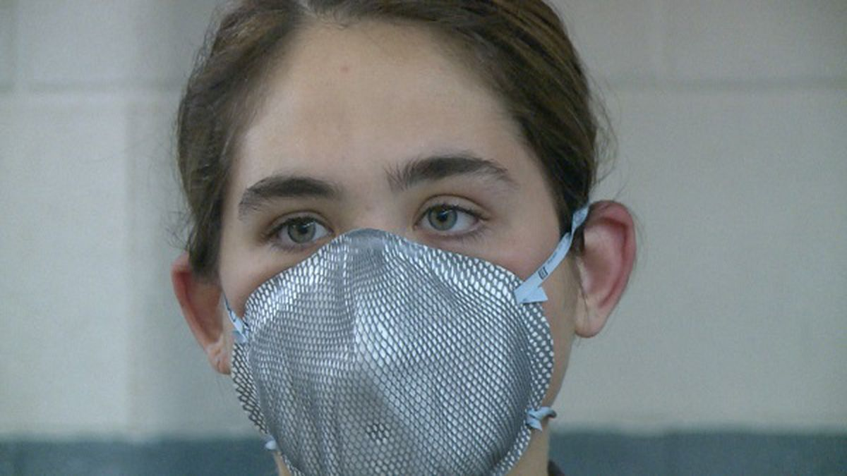 The CDC is now recommending that the public wear cloth face masks when out in crowded places like the grocery store.