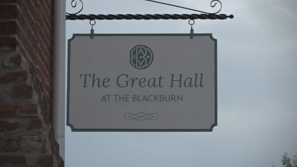 The Great Hall at the Blackburn Inn is a 4,000 square foot space in its new conference center.