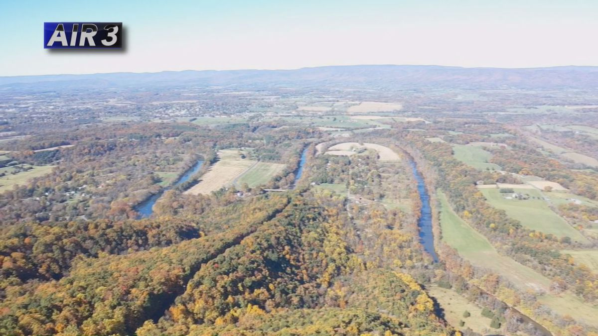 Air3 hovers over Woodstock Tower