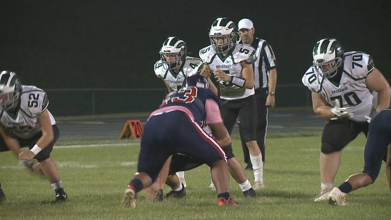 High school football playoff rankings entering Week 9 of the season.