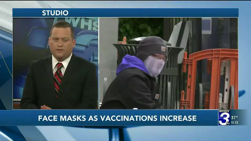 UVA doctors say certain situations do not require wearing a mask if you're fully vaccinated