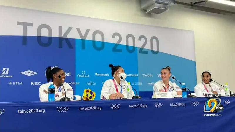 The U.S. gymnast has withdrawn from the all-around competition in the Olympics in Tokyo to...