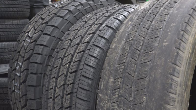 Shenandoah Automotive showed WHSV brand new tires compared to worn tires, which are not safe...